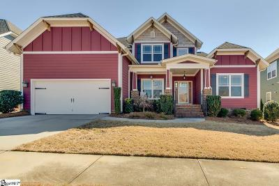 Simpsonville Single Family Home Contingency Contract: 202 Moss Wood