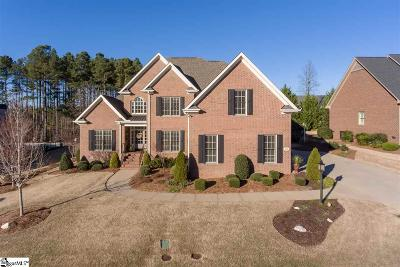 Simpsonville Single Family Home For Sale: 116 Bentwater