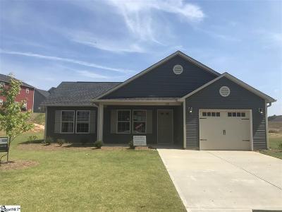 Fountain Inn Single Family Home For Sale: 109 Screech #Lot 323