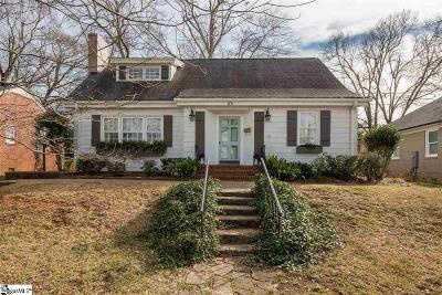 Greenville Single Family Home Contingency Contract: 113 W Montclair