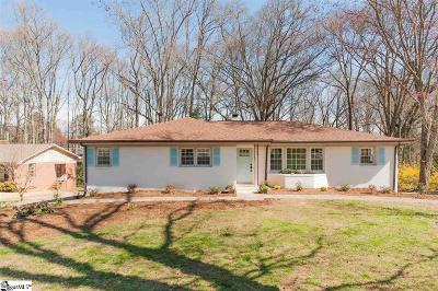 Greenville Single Family Home Contingency Contract: 14 Hampton