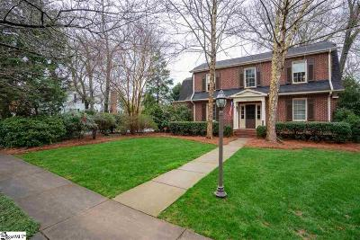 Greenville Single Family Home Contingency Contract: 101 W Prentiss