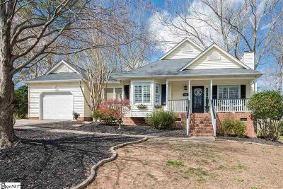 Simpsonville Single Family Home Contingency Contract: 901 Dunwoody