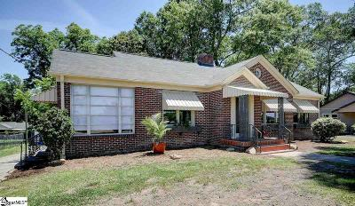 Greenville Single Family Home For Sale: 1811 Old Easley Bridge