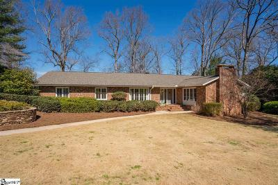 Greenville Single Family Home For Sale: 21 Chanticleer