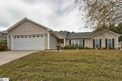 Greenville Single Family Home Contingency Contract: 4 Stone Meadow