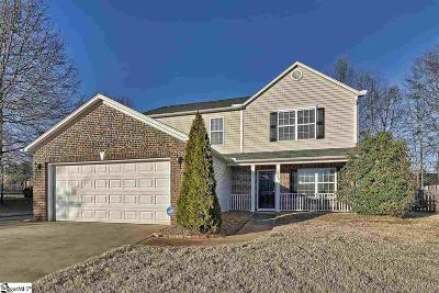 Simpsonville Single Family Home Contingency Contract: 420 Woodford