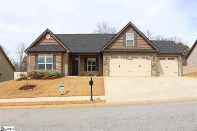 Boiling Springs Single Family Home For Sale: 831 Culverhouse
