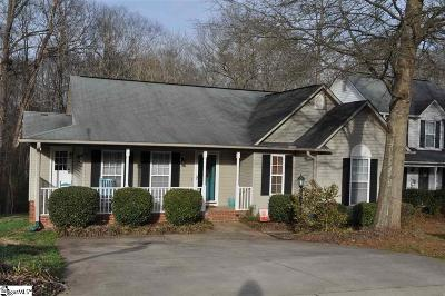 Boiling Springs Single Family Home Contingency Contract: 755 Cotton Branch
