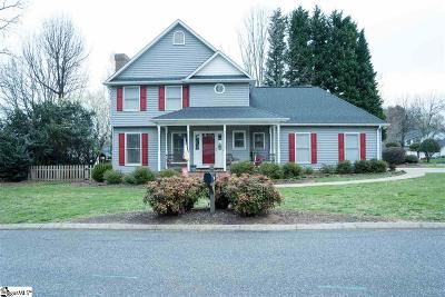 Greenville Single Family Home Contingency Contract: 403 Half Mile
