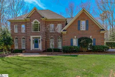 Simpsonville Single Family Home For Sale: 25 Wiseton