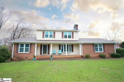 Greer Single Family Home For Sale: 101 Morgan