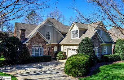 Spartanburg Single Family Home For Sale: 627 Innisbrook