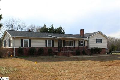 Simpsonville Single Family Home Contingency Contract: 705 Holland