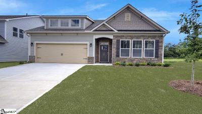 Simpsonville Single Family Home For Sale: 208 Raleighwood