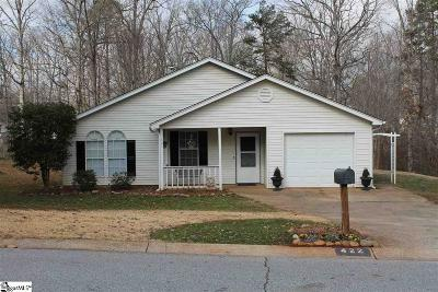 Greer Single Family Home Contingency Contract: 422 Maplewood