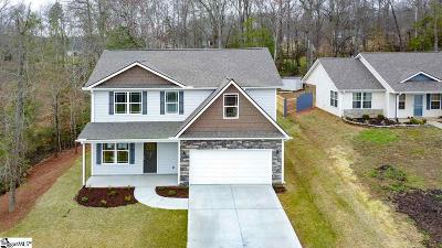 Simpsonville Single Family Home For Sale: 237 Redcoat