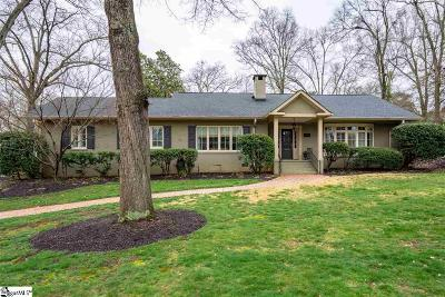 Greenville Single Family Home For Sale: 227 McDaniel