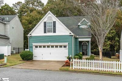 Easley Single Family Home Contingency Contract: 129 Ledgewood