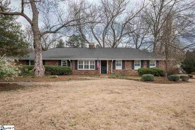 Greenville Single Family Home For Sale: 100 Iverson