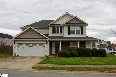 Simpsonville Single Family Home For Sale: 107 Falling Springs