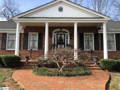 Greer Single Family Home For Sale: 105 Laurel