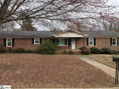 Simpsonville Single Family Home For Sale: 403 Wemberly