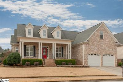 Simpsonville Single Family Home Contingency Contract: 109 Holland Trace
