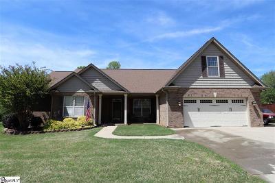 Greer Single Family Home For Sale: 108 Fox Farm