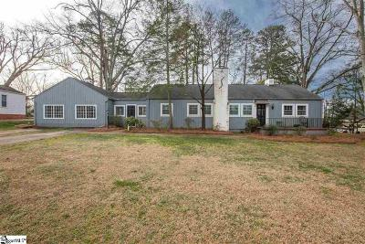 Greenville Single Family Home For Sale: 116 Knollwood