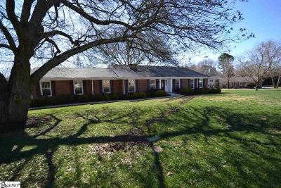 Simpsonville Single Family Home For Sale: 203 Gatewood