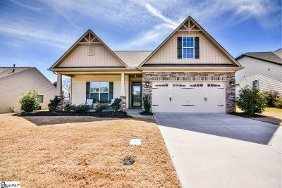 Simpsonville Single Family Home For Sale: 108 Applehill