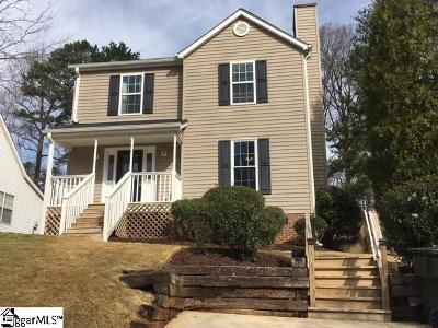 Greenville Single Family Home For Sale: 1022 Summit