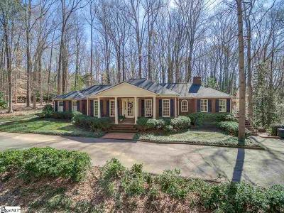 Spartanburg Single Family Home Contingency Contract: 12 Franwill