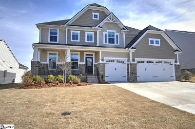 Simpsonville Single Family Home For Sale: 46 Barlow