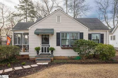 Greenville Single Family Home For Sale: 21 Langley