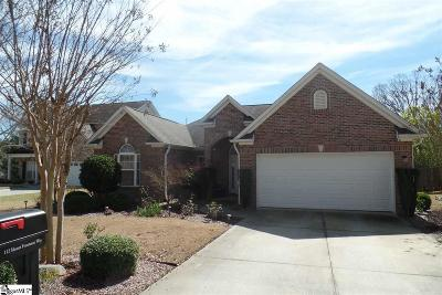 Easley Single Family Home For Sale: 112 Mount Frontenac