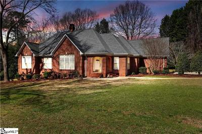Anderson Single Family Home For Sale: 302 Burning Tree