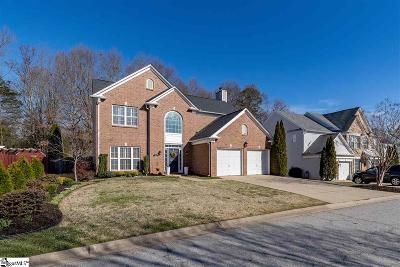 Simpsonville Single Family Home Contingency Contract: 104 Cotton Bay