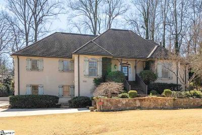 Greenville Single Family Home For Sale: 12 Club Forest