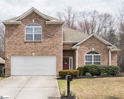 Simpsonville Single Family Home For Sale: 12 Slow Creek