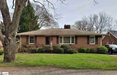 Greenville Single Family Home Contingency Contract: 10 West
