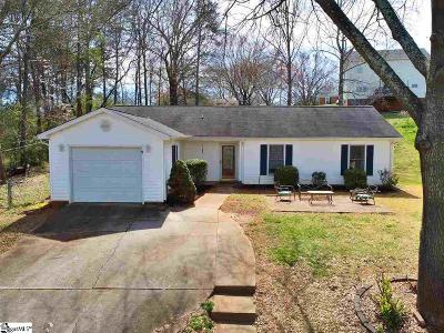 Greer Single Family Home Contingency Contract: 214 N Celestial