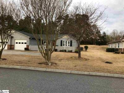 Greenville County Condo/Townhouse For Sale: 406 Lakeside