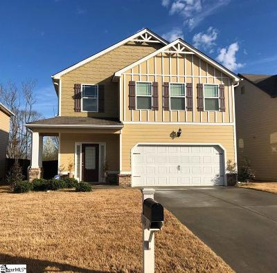 Simpsonville Single Family Home For Sale: 113 Border