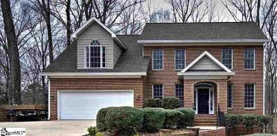 Greenville Single Family Home For Sale: 203 Trinity