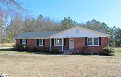 Simpsonville Single Family Home For Sale: 1101 Howard