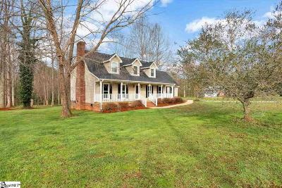 Easley Single Family Home For Sale: 125 Cannon