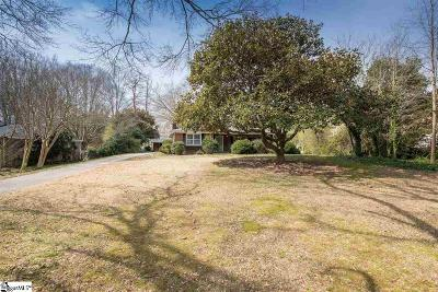 Greenville Single Family Home Contingency Contract: 137 Corrine