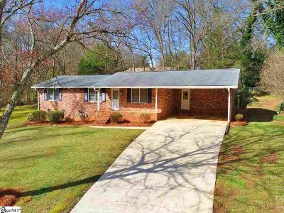 Piedmont Single Family Home Contingency Contract: 303 Riverside